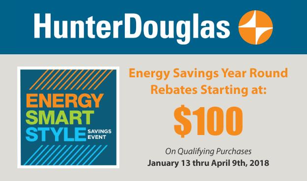 Hunter Douglass 2018 Winter Rebate