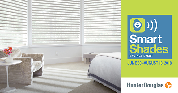 Hunter Douglass 2018 Summer Rebate - Eagle River Home Interior Showroom
