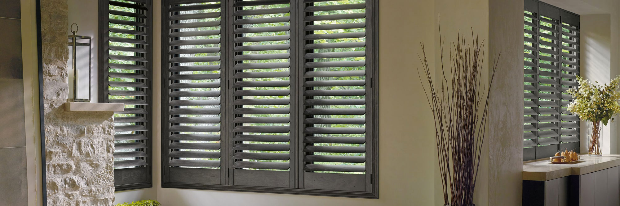 Hunter Douglas Shutters at Eagle River Interiors